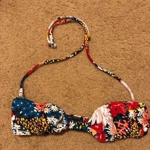 Other - Floral print swim top